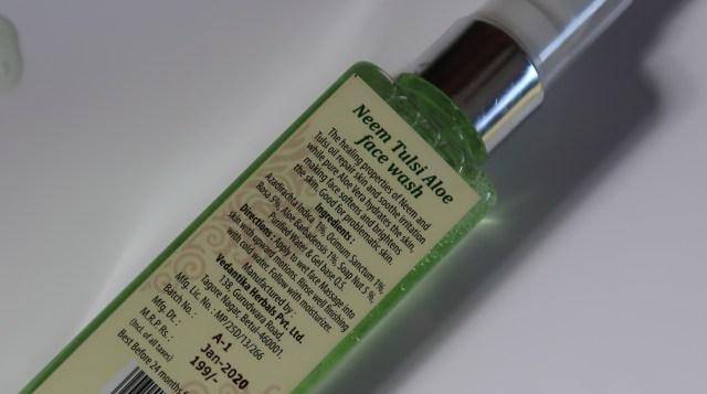 Vedantika Herbals Face Wash