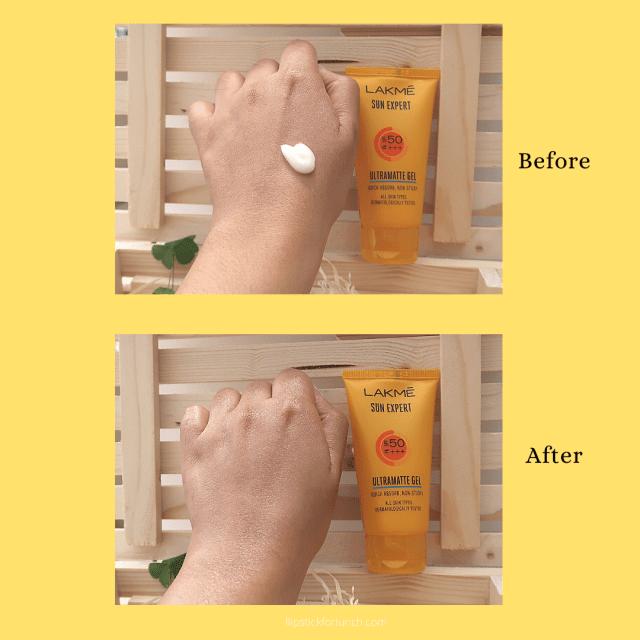 Lakme Sun Expert Ultra Matte Gel