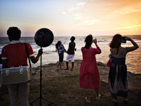 Photo session at Galle Fort