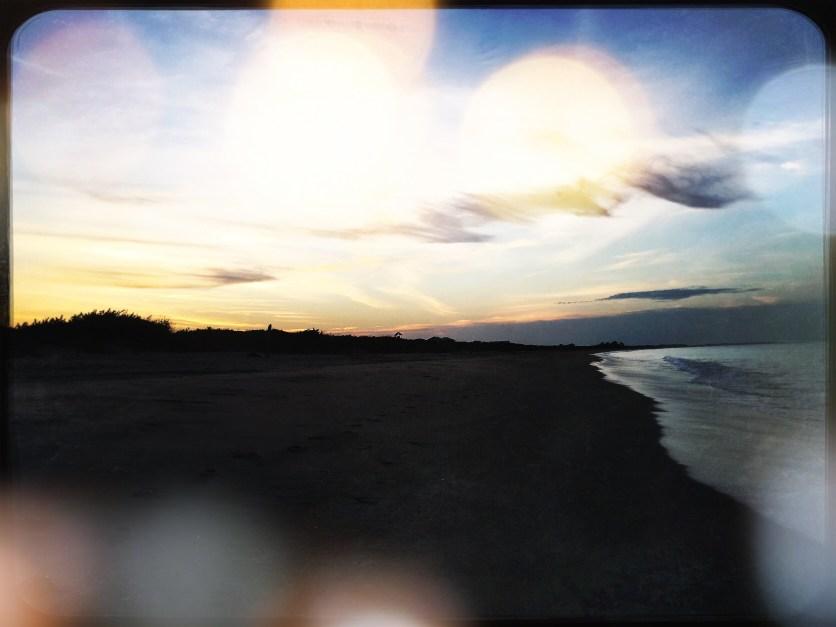 Sunset on Trincomalee Beach, Sri Lanka