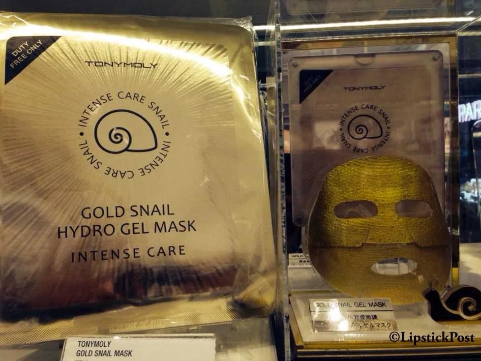 Maschera coreana alla lumaca