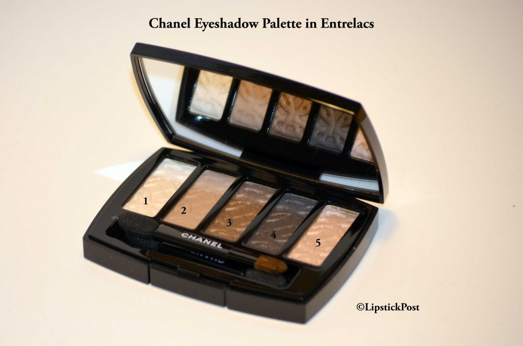 Chanel Eyeshadow Palette in Entrelacs