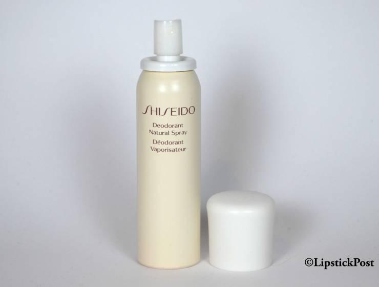 Shiseido deodorant