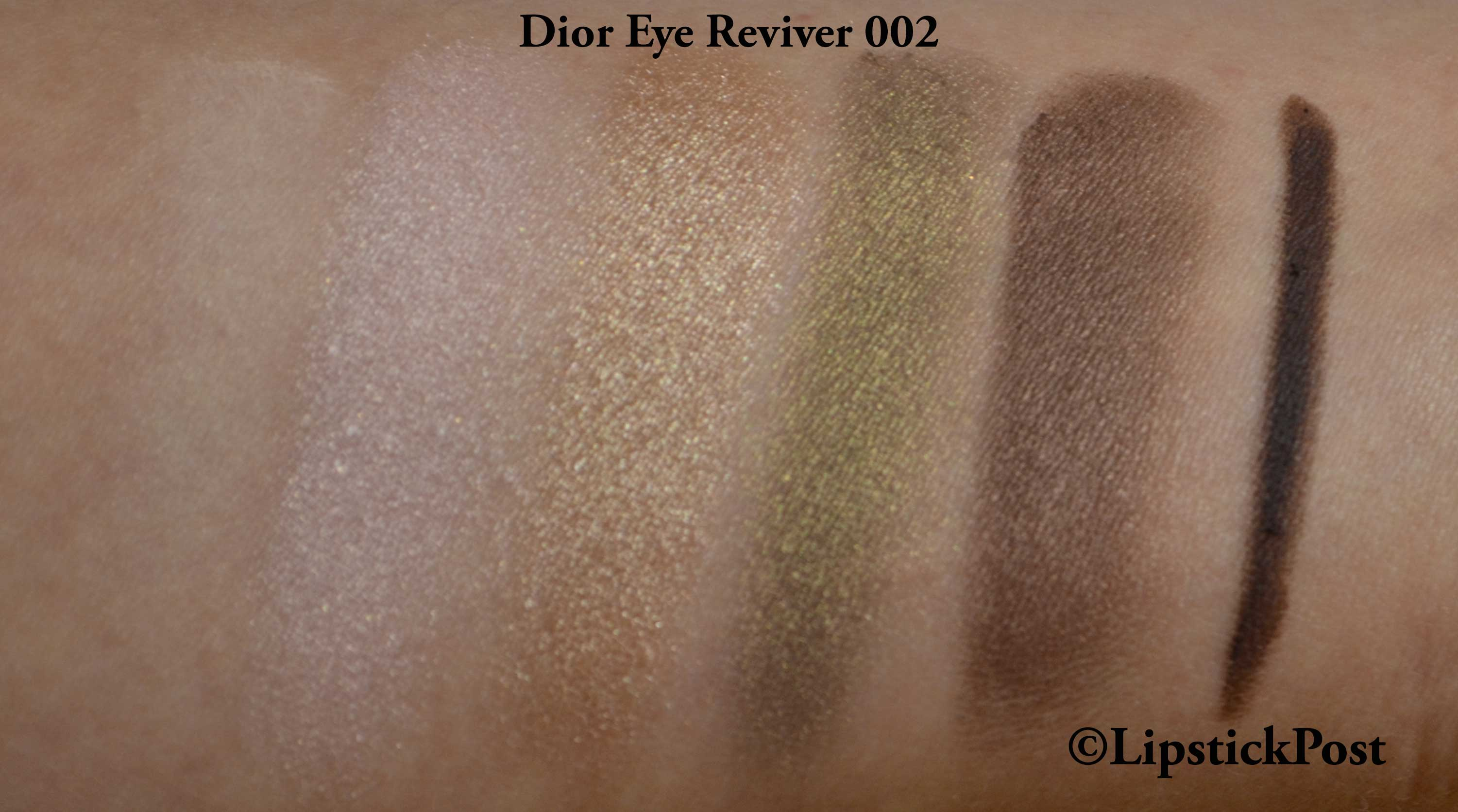 swatches Dior eye reviver 002
