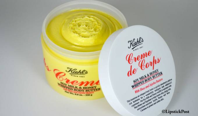 Creme de corps soy milk & honey Kiehl's