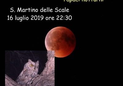L'eclissi, i pianeti e i rapaci notturni