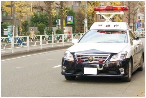 パトカー、警察、事件、トラブル