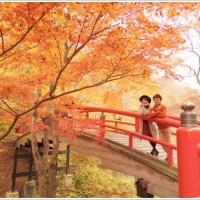 紅葉、秋、カップル、デート