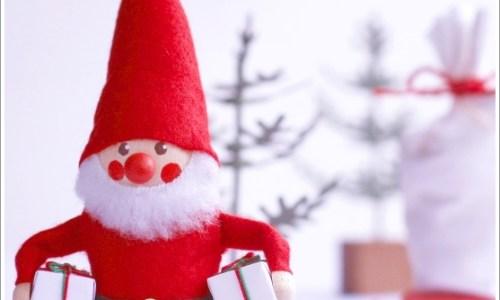 サンタ、クリスマス、冬