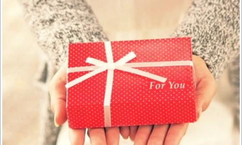 女性、プレゼント