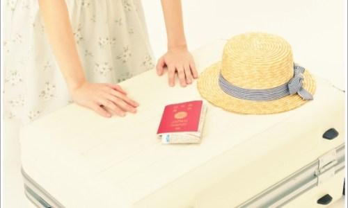旅行、夏、春、キャリーバッグ
