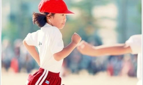 運動会、子供