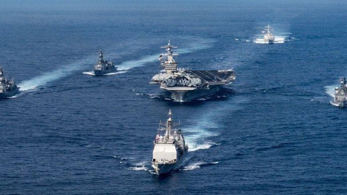 Image result for Kapal Militer yang Dikerahkan, AL China Kini Ungguli AS