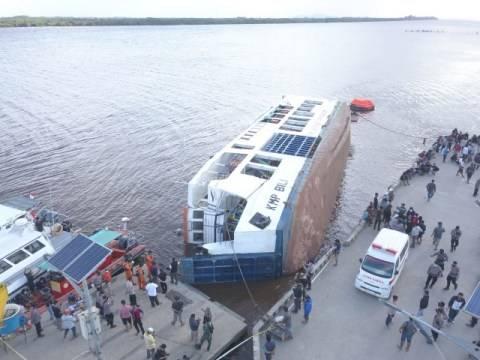 Kapal Feri di Sambas Terbalik, Kapolres: 30 Menit Penumpang Masih Sempat Keluar