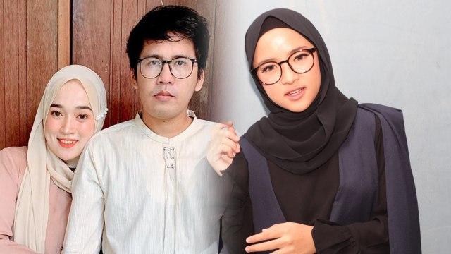 Hasil gambar untuk Perselingkuhan Diketahui Keluarga, Nissa Sabyan dan Ayus Ngaku Saling Mencintai