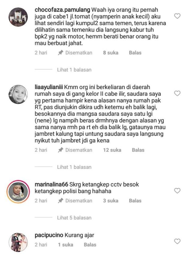 Terekam CCTV, Emak-emak di Tangerang Jadi Korban Penjambretan Kalung Emas (1)