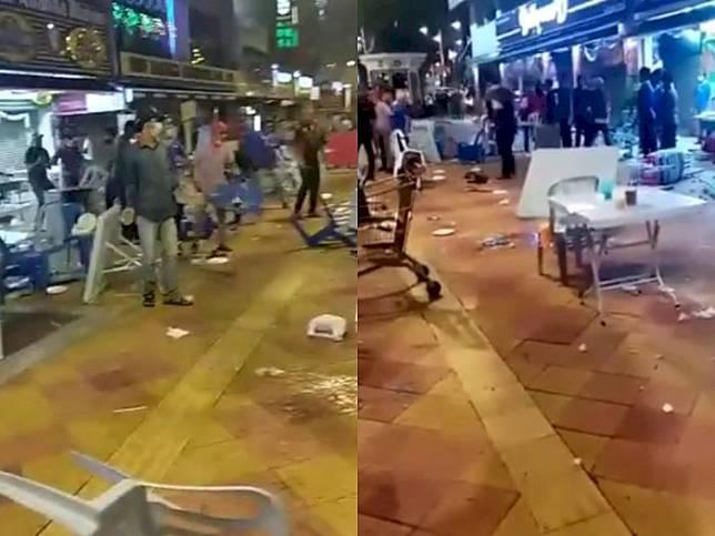 Viral Video Sekelompok Pria Buat Onar di Restoran Gegara Ditolak Makan karena Sudah Malam