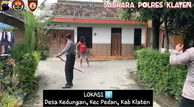 Ramai Pria di Klaten Tak Mempan Ditembak Polisi, Ini Fakta Sebenarnya
