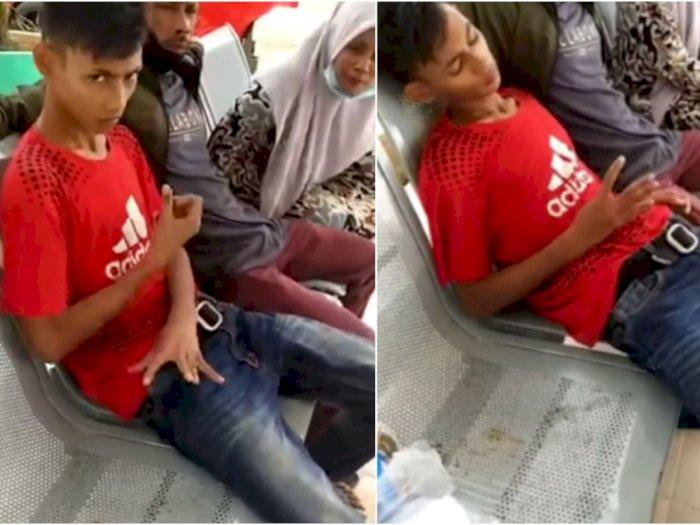 Viral Remaja di Aceh Gangguan Saraf Kebanyakan Main Game Online, Tangannya Tak Bisa Diam | Indozone.id