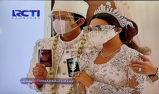 Sah, Atta Halilintar dan Aurel Hermansyah Resmi Jadi Suami Istri