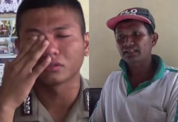 Pernah Jadi Tukang Parkir Hingga Badut, Siapa Duga Anak Kuli Bangunan Ini Lulus Murni Jadi Polisi   RIAU24.COM