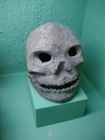 Calavera Prehispanica, ceramica.