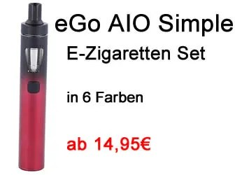 eGo AIO Simple E-Zigaretten Set