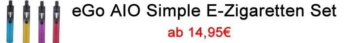 eGo AIO Simple E-Zigaretten Set