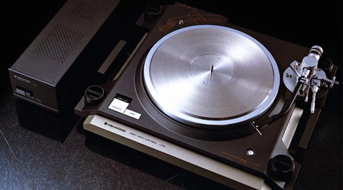 Kenwood L-07D Direct Drive Turntable Repair & Restoration