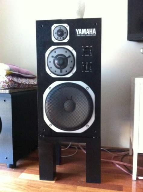 NS-1000 speaker stands