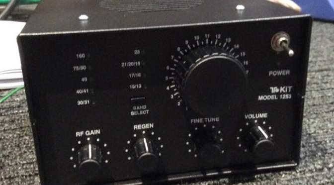 Ten-Tec 1253 Regenerative Shortwave Receiver Build