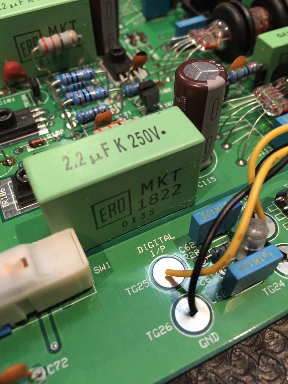Musical Fidelity Tri-Vista 21 Tube DAC Modifications, Part 3 – ERO Goodness!