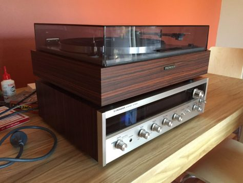IMG_2153 Gorgeous Vintage Pioneer Hifi System for Sale