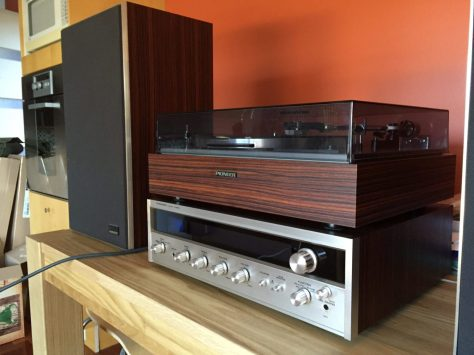 IMG_2157 Gorgeous Vintage Pioneer Hifi System for Sale