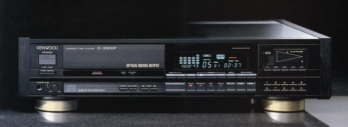 Classic Kenwood D-3300P CD Player Service & Repair