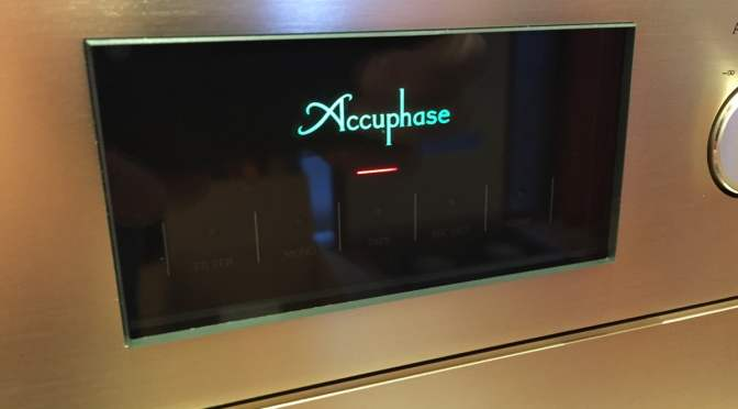 Latest Accuphase Gear in the House!
