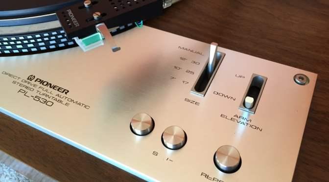 Pioneer PL-530 Direct-Drive Turntable Service & Repair