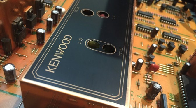 Kenwood KT-3300D FM Stereo Super-Tuner Service & Alignment