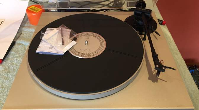 Harman/Kardon T-20 Direct-Drive Turntable Service