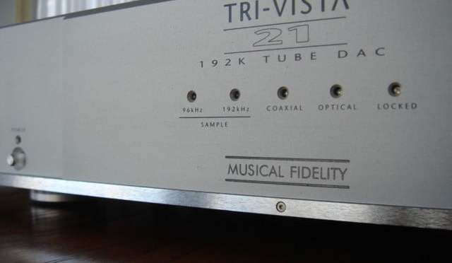 Musical Fidelity Tri-Vista 21 Tube DAC Modifications