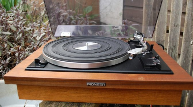 Pioneer PL-A35 Belt-Drive Turntable Repair