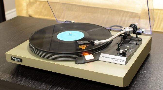Technics SL-23 Belt-Drive Turntable Service & Repair