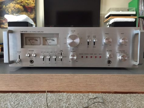 img_6144 Lovely Lenco A-50 Integrated Amplifier for Sale
