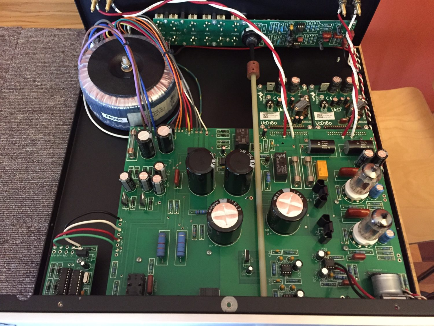 Rogue Audio Sphinx Integrated Amplifier Repair