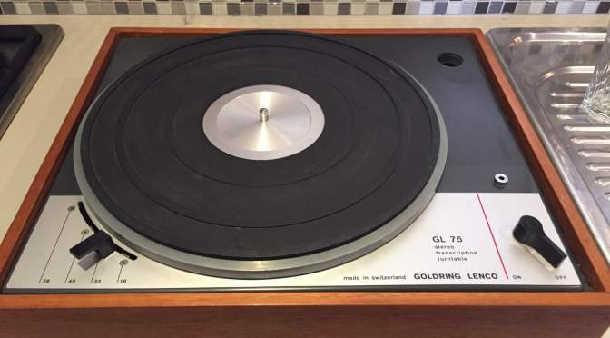 Lenco GL75 Rim Drive Turntable for Sale