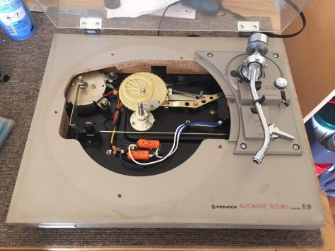 img_6772 Pioneer PL-514 Turntable Service - An Affordable Gem