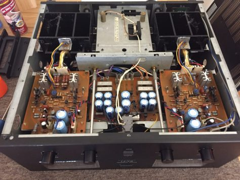img_6884 Sansui BA-F1 Power Amplifier Restoration Update