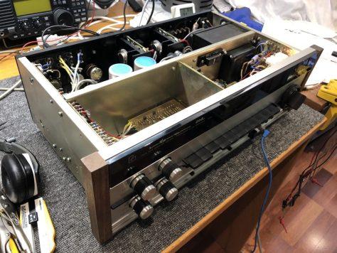 img_9161 Luxman SQ-202 Integrated Amplifier Repair & Service