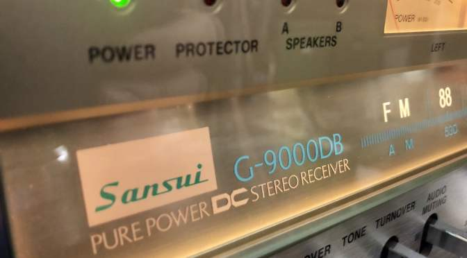 Epic Sansui G-9000DB Monster Receiver Overhaul Video