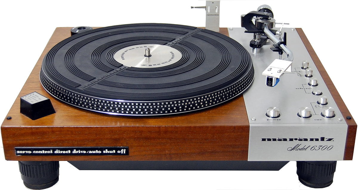 Read more about the article Marantz Model 6300 Turntable Service & Review